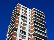 Tower block. Modern public council housing apartments skyscraper tower block in London, England, UK Stock Images