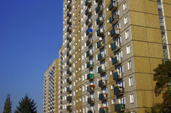 Tower block in Poznan Stock Photography