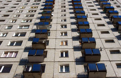 Tower block in Poznan Royalty Free Stock Photo