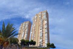 Tower Blocks In Benidorm Stock Photos
