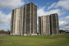 Tower blocks, Glasgow Royalty Free Stock Images