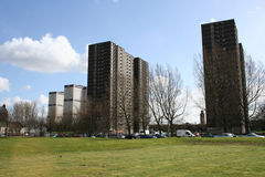 Tower blocks, Glasgow. Scotland Stock Image