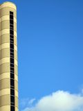 Tower on blue sky, architecture details Royalty Free Stock Photography
