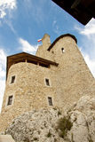 Tower of Bobolice castle - Poland. Stock Photos
