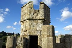 Tower, Bodiam Castle, Robertsbridge, East Sussex, England Royalty Free Stock Photo