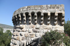 Tower in Bodrum Castle Stock Images