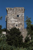 Tower of Bodrum Castle Royalty Free Stock Photo