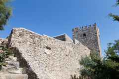 Tower of Bodrum Castle Royalty Free Stock Images