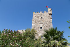 Tower of Bodrum Castle Royalty Free Stock Photos