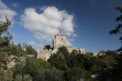 Tower of Bodrum Castle Royalty Free Stock Photography