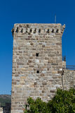Tower in Bodrum Castle Royalty Free Stock Photography
