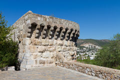 Tower in Bodrum Castle Royalty Free Stock Photos