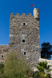 Tower in Bodrum Castle Royalty Free Stock Photo