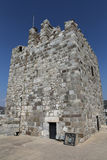 Tower of Bodrum Castle in Turkey Stock Photo