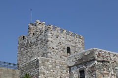 Tower of Bodrum Castle in Turkey Stock Photography