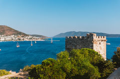 Tower of Bodrum's castle Stock Photo