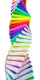 Tower of books royalty free stock photos