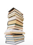 Tower from books. And Writing-book Stock Photography