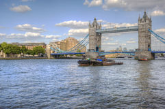 Tower Brdige in London major tourist attraction Royalty Free Stock Photography