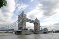 Tower Bridge. Landmark in London, United Kingdom Stock Images