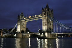 Tower Bridge. In the evening Stock Photo