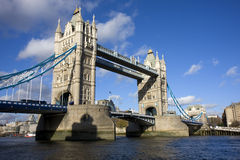 The Tower Bridge stock images