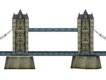 Tower Bridge. Illustration of Tower Bridge in London Stock Image