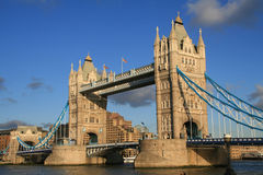 Tower bridge. Famous tower bridge in London Royalty Free Stock Images