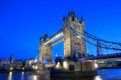 Tower Bridge. Famous Tower Bridge, London, UK Royalty Free Stock Photo