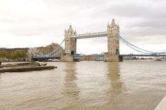 Tower bridge. A picture shooted in a cloudy day of tower bridge at London Stock Photography