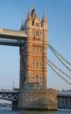 The Tower Bridge. London scene, The Tower Bridge over River Thames Stock Photos