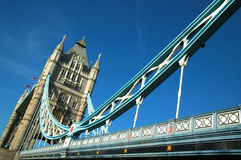 Tower Bridge. Was designed and built between 1886-1894. It is one of London's most famous landmarks Royalty Free Stock Image