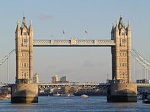 The tower bridge. In London royalty free stock images