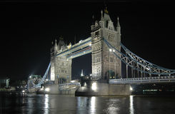 Tower Bridge. London Night View stock images