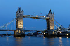 Tower Bridge - 6. Tower Bridge located in London, England crossing over the River Thames. It is close to the Tower of London and has become an iconic symbol of Royalty Free Stock Photos