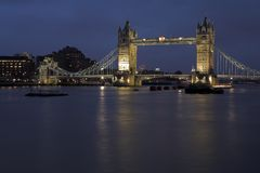 Tower Bridge #7 Royalty Free Stock Photos