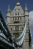 Tower Bridge. Over the river Thames in London. (large file - 10 x 15 inch royalty free stock images
