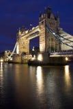 Tower Bridge. Night shot of Tower Bridge, London Stock Image