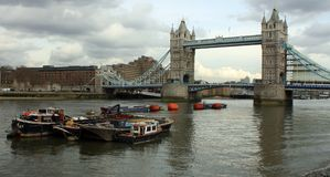 Tower Bridge. In London details Royalty Free Stock Photography