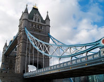 Tower Bridge. The famous Tower Bridge in London, England Royalty Free Stock Photography