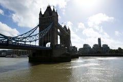 Tower bridge across river Thames in London city in 19. September 2018. UK. Tower bridge across river Thames in London city in 19. September 2018. United Kingdom stock images