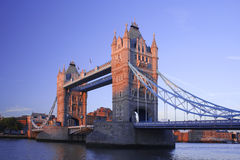 Tower Bridge across the river Thames Royalty Free Stock Image