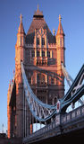 Tower Bridge across the river Thames Royalty Free Stock Photography