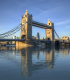 Tower Bridge Amazing Reflection Royalty Free Stock Image