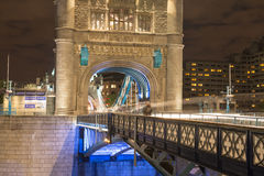 Tower Bridge architectural detail Stock Photos