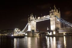 Free Tower Bridge At Night Stock Photo - 11739590