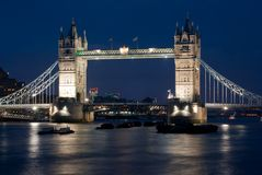 Free Tower Bridge At Night Royalty Free Stock Image - 16874966