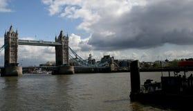 Tower Bridge. Beautiful Tower Bridge in London Royalty Free Stock Image