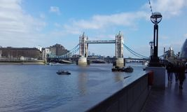 Tower bridge. Beautiful picture of Tower bridge Stock Photos