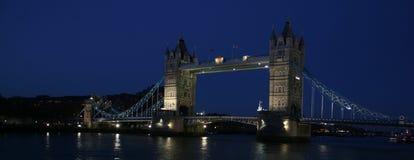 Tower Bridge. Beautifully illuminated Tower Bridge in London Royalty Free Stock Photos